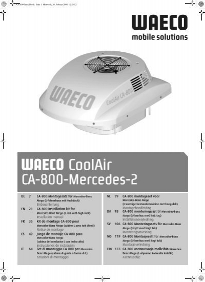waeco coolfun ca 35 manual