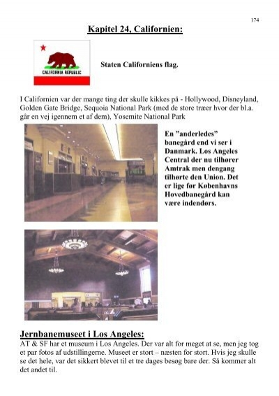 Kapitel 24 Californien Jernbanemuseet I Los Angeles