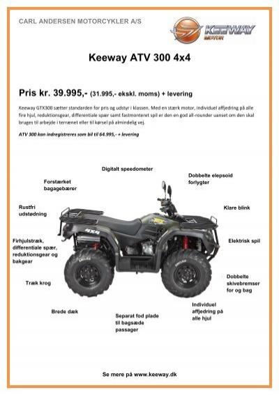 Keeway 300 Atv Manual