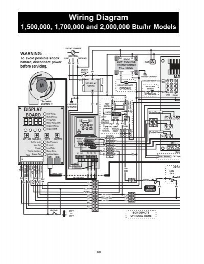 Power-fin 1500-2000 Wiring Diagram