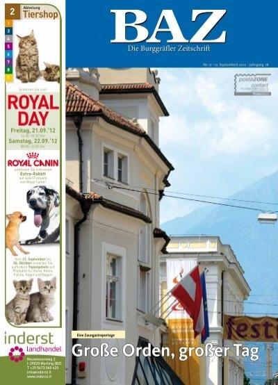 Diese Ausgabe Als Pdf Speichern Baz Die Burggrafler Zeitschrift