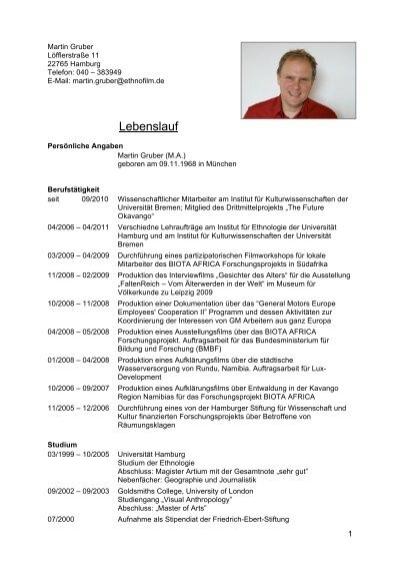 Lebenslauf Franz Gruber - Einfach-oesterreich.at