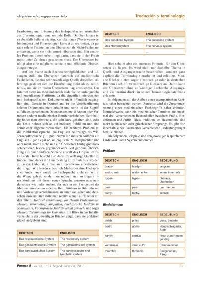 Traducción y terminolog