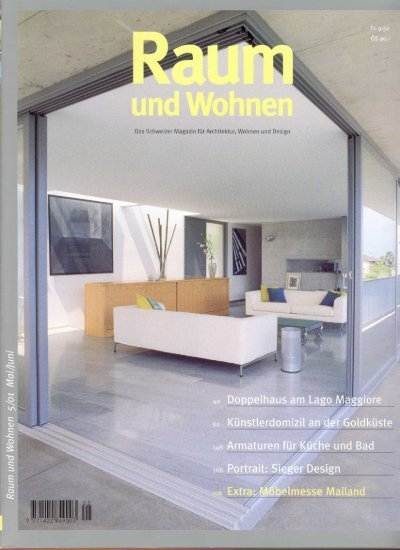 das schweizer magazin f r 39 a rchitektwf wohnen und design. Black Bedroom Furniture Sets. Home Design Ideas