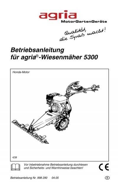 Original Agria Keilriemen 400 /& 5300 Vorwärts und Rückwärtsgang