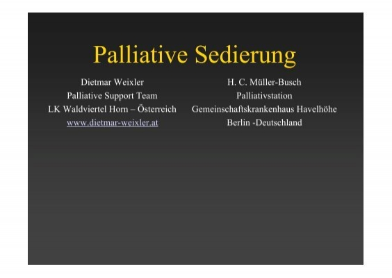 palliative sedation therapy paper Pdf | palliative sedation is sedating a patient to the point of unconsciousness to  relieve one or more  the purpose of this position statement paper is to  as a  therapy for refractory symptoms using pharmacological agent to.