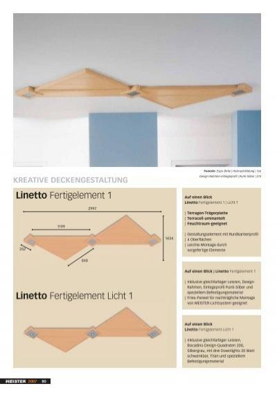 Linetto Einlegeprofi le S