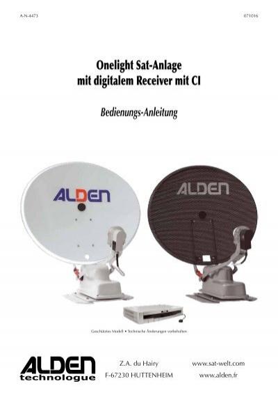 onelight sat anlage mit digitalem receiver mit ci alden. Black Bedroom Furniture Sets. Home Design Ideas