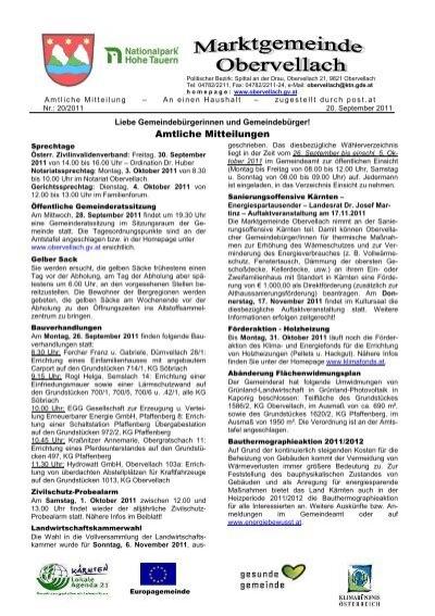 Fickkontakte aus Obervellach, Kontaktanzeigen (1)