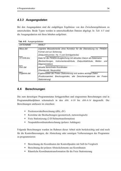4 Programmstruktur 34 4.3