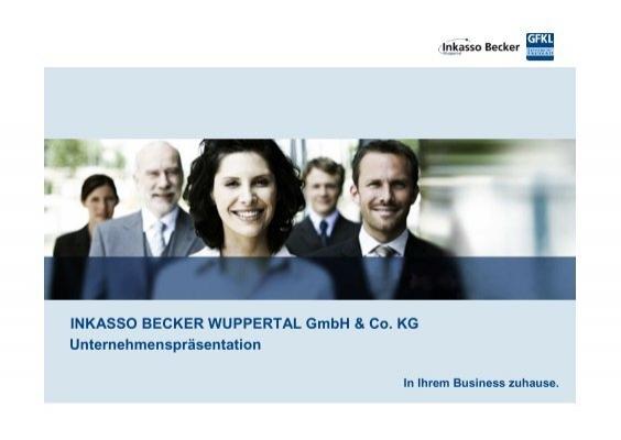 Inkasso Becker Wuppertal Gmbh Co Kg Vdz
