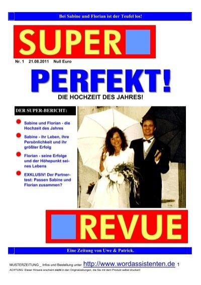 hochzeitszeitung als pdf herunterladen - Hochzeitszeitung Beispiele Pdf