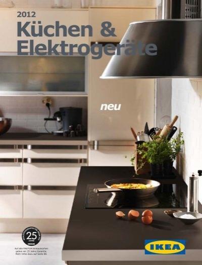 IKEA Küchen & Elektrogeräte 2012