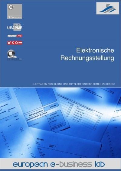 Elektronische Rechnungsstellung Wirtschaftskammer österreich