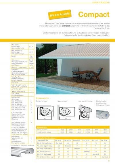 arabella markisen. Black Bedroom Furniture Sets. Home Design Ideas