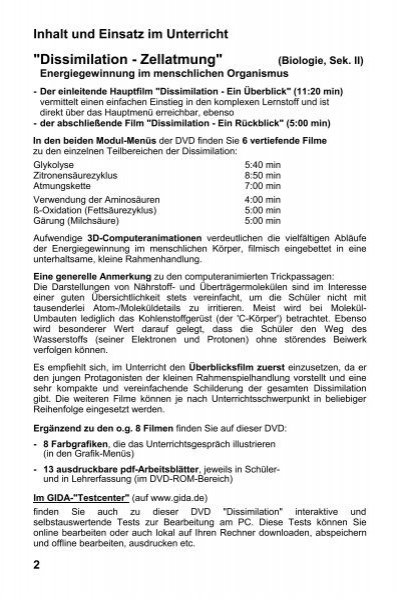 Groß Überblick über Die Zellatmung Und Gärung Arbeitsblatt Antworten ...