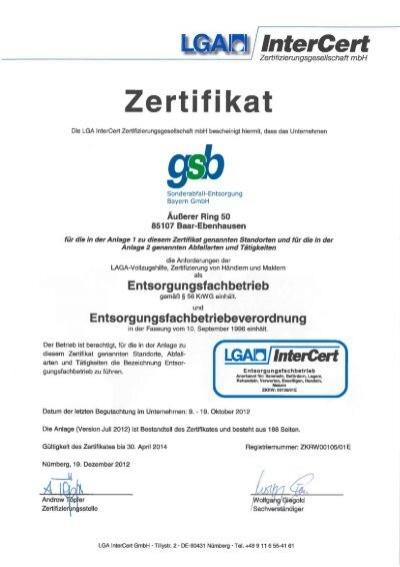 Mitterteich gsb sonderabfall entsorgung bayern gmbh - Mobel entsorgung gratis ...