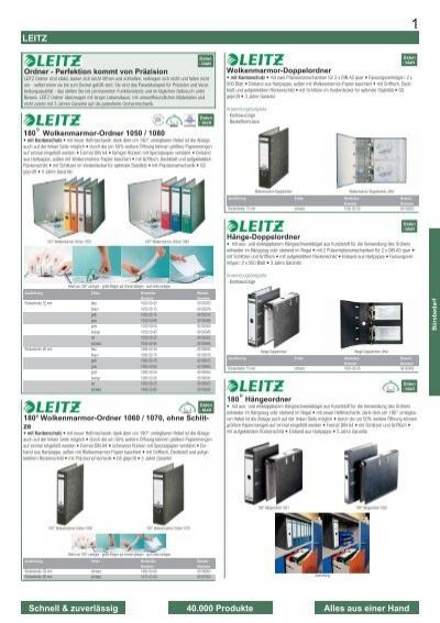 LEITZ 180 Grad Ordner DIN A4 80 mm weiß aus Pappe mit PP-Folie 1010-50-01