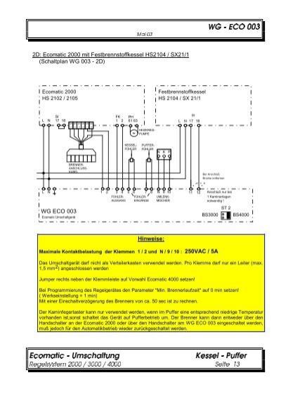 Buderus Ecomatic 4000 Schaltplan Pdf Merger