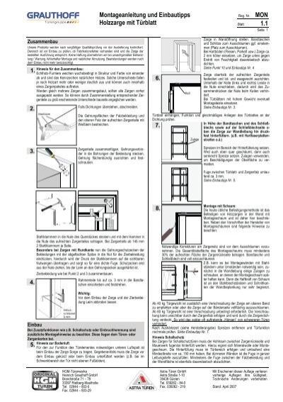 montageanleitung und einbautipps holzzarge mit türblatt 1 1