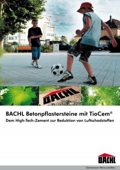 bachl betonpflastersteine mit tiocem karl bachl gmbh co kg. Black Bedroom Furniture Sets. Home Design Ideas