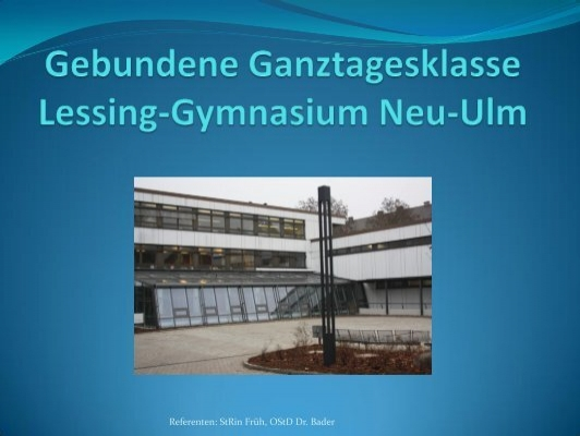 Lessing gymnasium neu-ulm