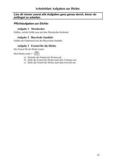 Arbeitsblatt Aufgaben zur