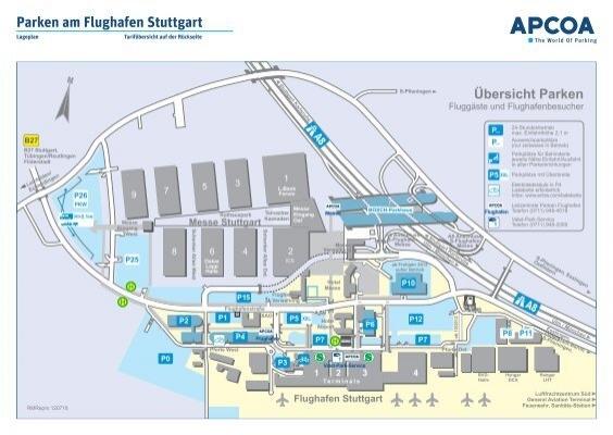 Parken Am Flughafen Stuttgart Skyparking Com