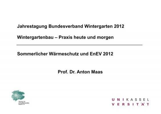 Din 4108 2 stand enev 2012 bundesverband wintergarten ev - Bundesverband wintergarten ev ...
