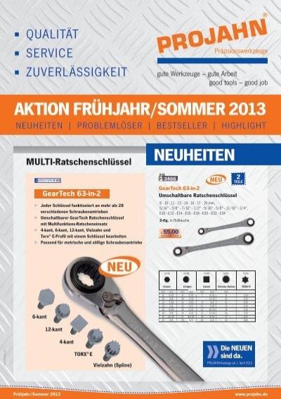 PROJAHN HSS-Co Bi-Metall Lochsägen Set Universal 18tlg im Koffer 68913 Alu Stahl