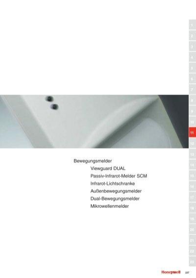 bewegungsmelder viewguard dual passiv infrarot melder scm. Black Bedroom Furniture Sets. Home Design Ideas