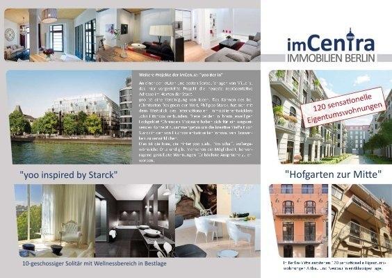 imcentra immobilien berlin flyer eigentumswohnungen berlin mitte mish01. Black Bedroom Furniture Sets. Home Design Ideas
