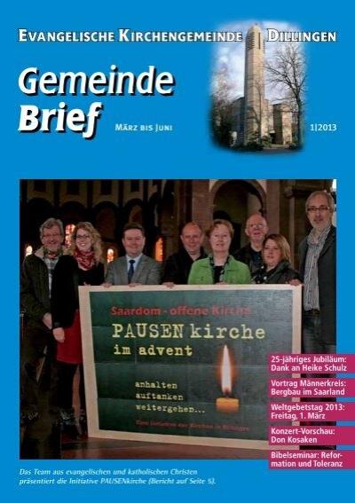 Pdf 2 Evangelische Kirche Saar