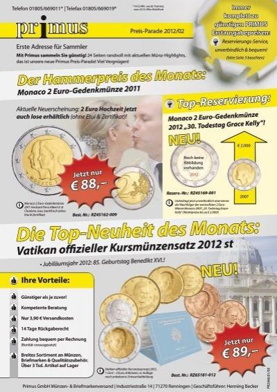 Neu Primus Münzen