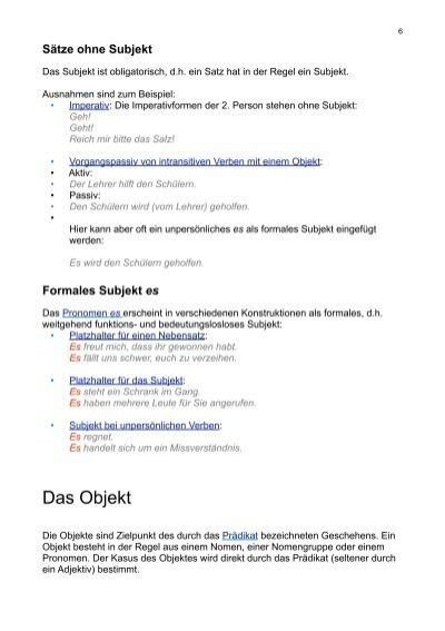 Colorful Subjekt Und Objekt Pronomen Arbeitsblatt Picture Collection ...