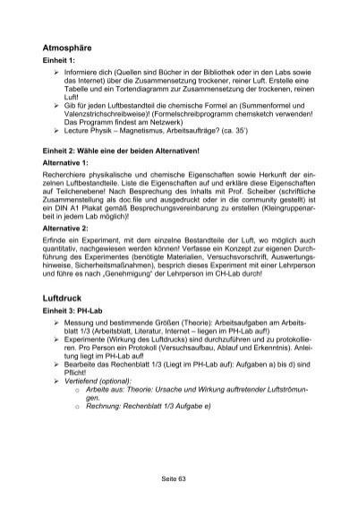 Enchanting Messungen In Der Chemie Arbeitsblatt Gallery - Mathe ...