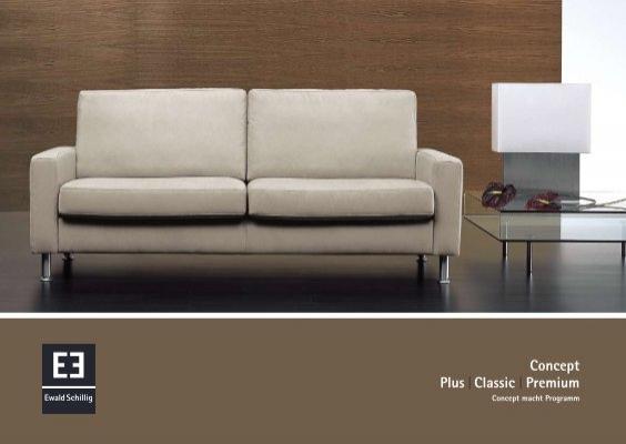 ewald schillig concept brosch re als pdf download. Black Bedroom Furniture Sets. Home Design Ideas