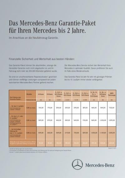 agb garantie-paket - mercedes-benz niederlassung frankfurt