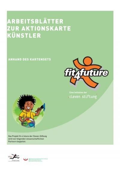 Arbeitsblätter zur AktionskArte künstler - Fit for Future