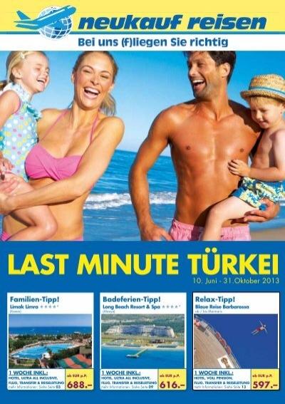 last minute türkei reisen