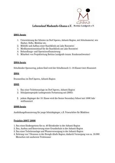 Großartig Beispiel Lebenslauf Für Neu Registrierte Krankenschwestern ...