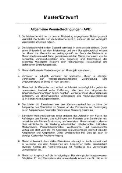 Mbr Muster Raumnutzungsvertrag Lap Altenburgerland