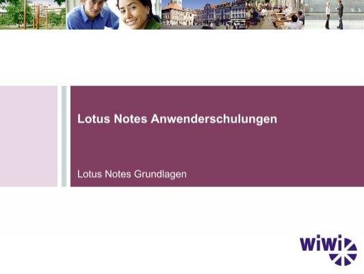 Lotus Notes Grundlagen Pdf