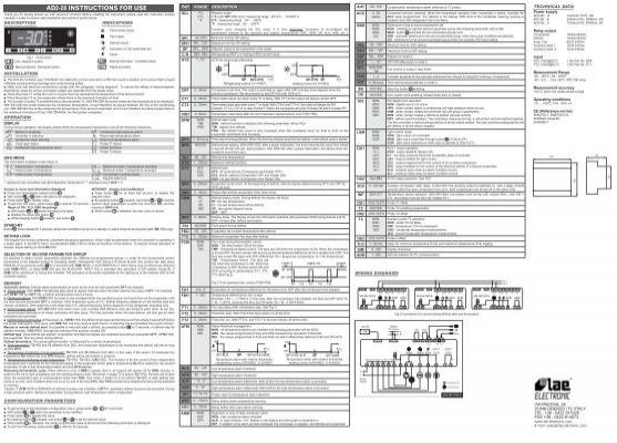Lae Ad2-28 инструкция - фото 7