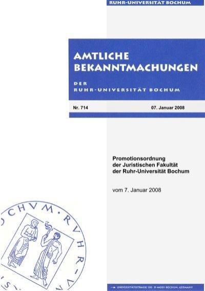 Juristische Fakultät Bochum
