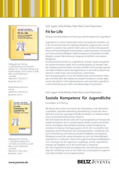 Fit for Life Soziale Kompetenz für Jugendliche - Bipp