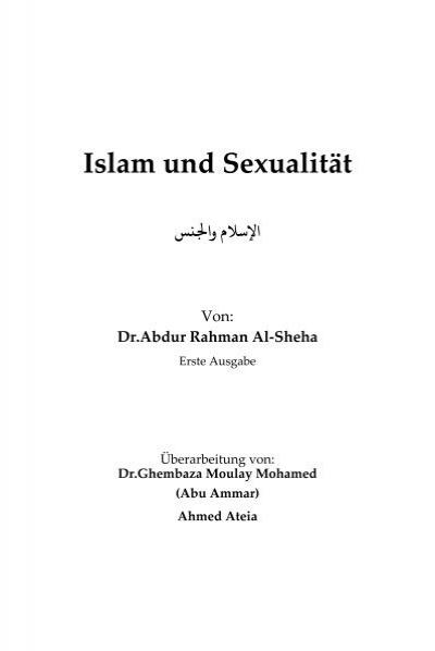 islamische sexuelle regeln fur frauen