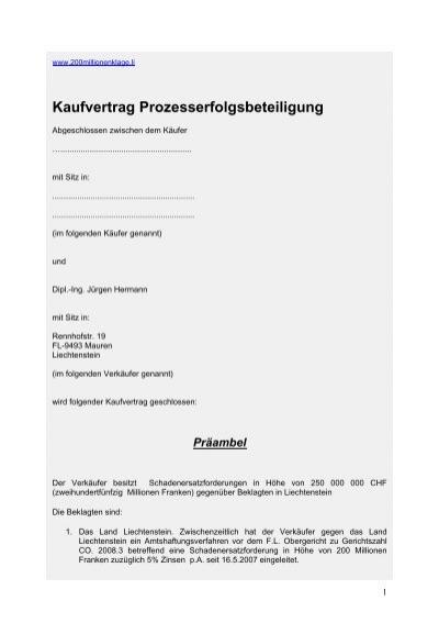 Fantastisch Land Kaufvertrag Vorlage Galerie - Dokumentationsvorlage ...