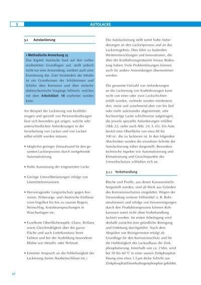 3 AUTOLACKE 3.1 Autolacki
