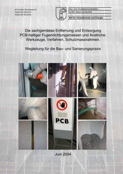 Die sachgem sse entfernung und entsorgung pcb leupro - Mobel entsorgung gratis ...